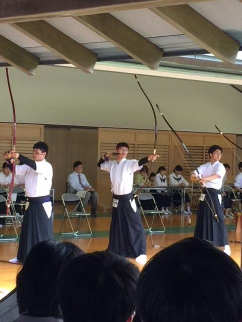 インターハイ 2019 弓道